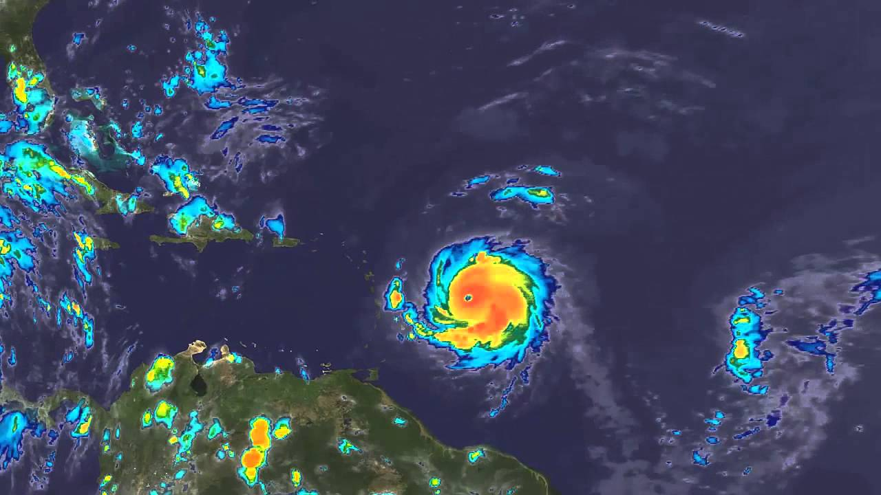 Hurricane Hugo 16 Day Satellite Loop Youtube