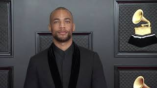 Kendrick Sampson on the Red Carpet I 2021 Annual GRAMMY Awards