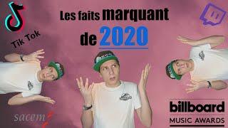 Les faits marquant de 2020