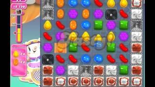 Candy Crush Saga Level 1206 (No booster, 3 Stars)