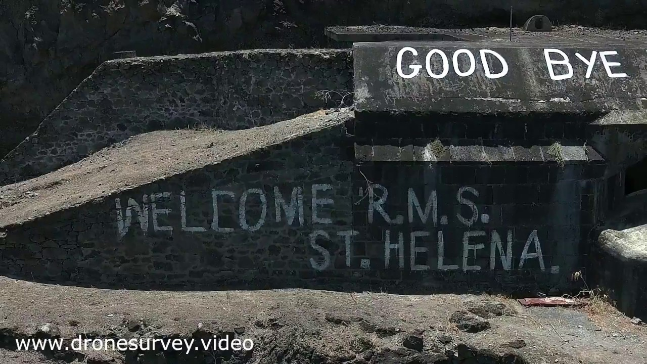 The Final Departure of the RMS St Helena