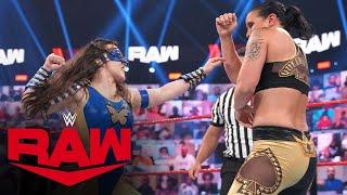 Bliss & Cross vs. Jax & Baszler – Money in the Bank Qualifying Match: Raw, June 21, 2021