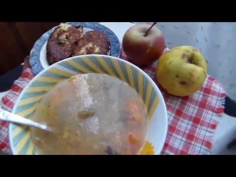 Суп из перловки с грибами