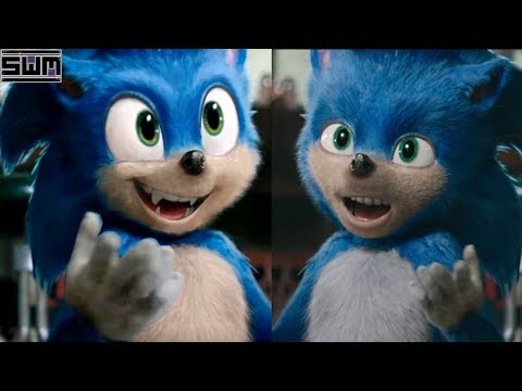 Director Of Sonic Movie Promises To Fix Sonic S Design Youtube