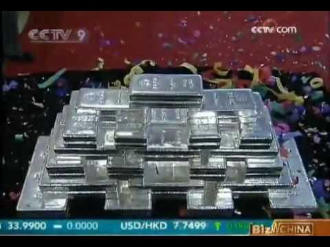 China encourages Silver Bullion for investment