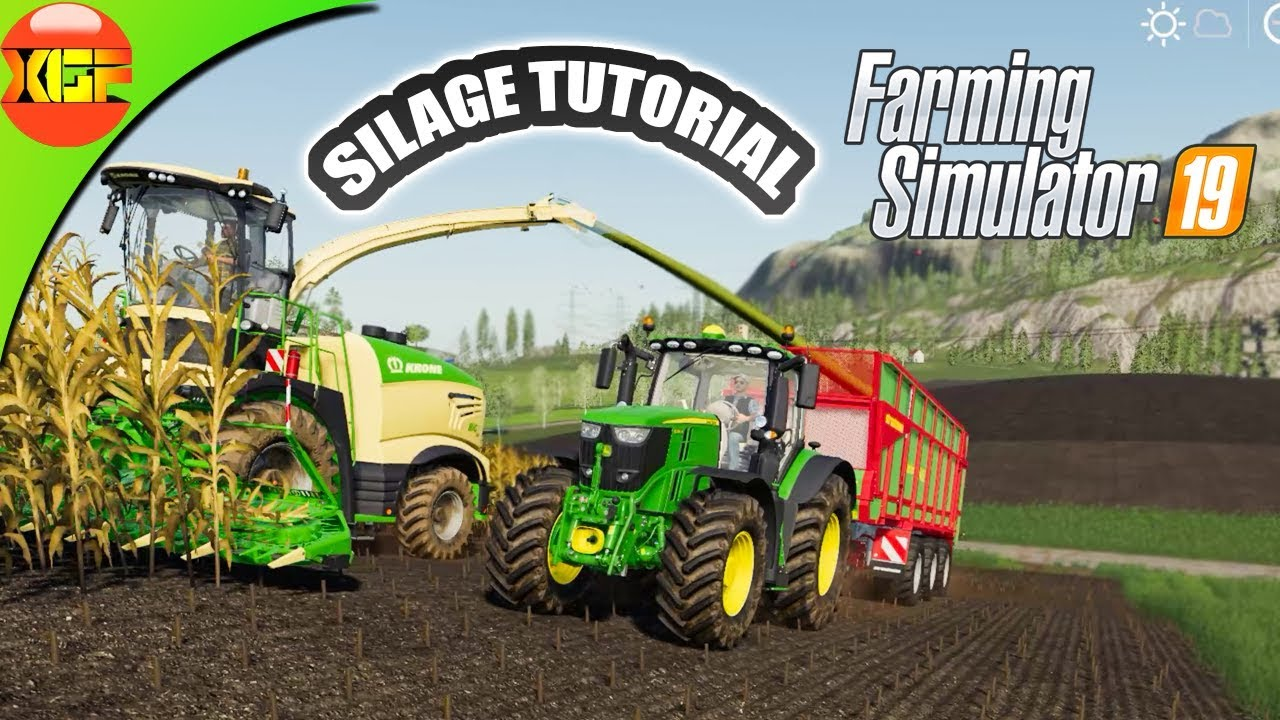 Farming Simulator 19 Tutorial #4- All about silage!