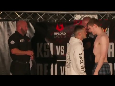 Scarce VS Racka Racka WEIGH IN *CRAZY*