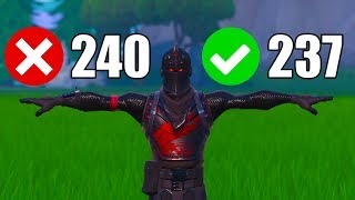 Why I cap my FPS at 237 and all of my Fortnite Settings Updated - Beaks