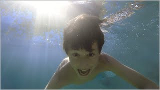 בריכת שחייה טבעית במושב מאור - כמו בטבע