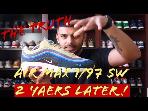 Conductividad También Humilde  Nike Air Max 1/97 Sean Wotherspoon - Peru Review en HD - YouTube