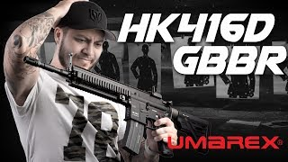 Umarex HK416D GBBR by KWA, Can It Take The Crown? - RedWolf Airsoft RWTV