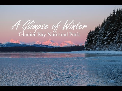 A Glimpse of Winter in Glacier Bay National Park