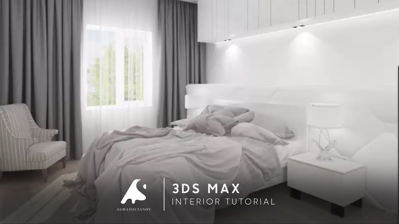 3ds max interior design tutorial modeling 2016 vray for Decoration 3ds max