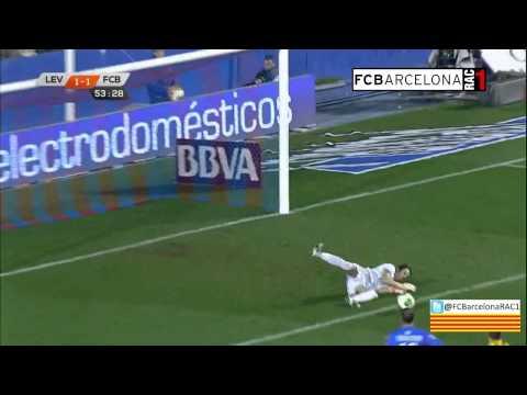 T13/14 1/4 Copa del Rei: Levante UD 1-4 FC Barcelona (RAC1)