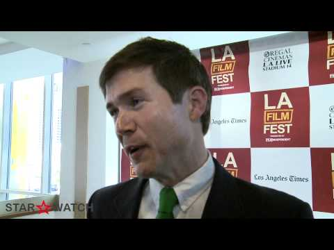 Barlow Jacobs red carpet interview at 2012 Los Angeles Film Festival