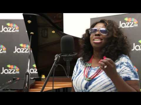 Angie Stone in session for Jazz FM