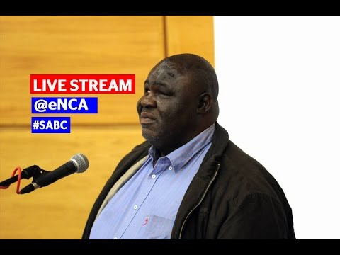 SABC media briefing