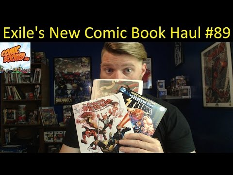 Exile's New Comic Book Haul #89 X-Men Blue and Weapon X Launch!