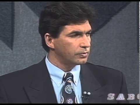 A 1994 pre-election debate between Mandela and de Klerk