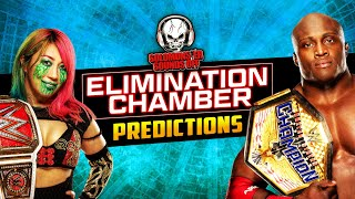 WWE Elimination Chamber 2021 Predictions - Solomonster Sounds Off