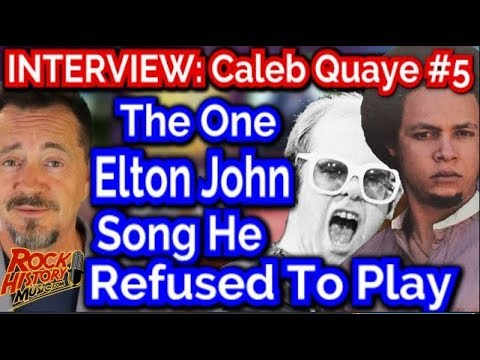 Caleb Quaye: The One Elton John Song He Refused To Play - INTERVIEW