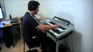 "Marco Cerbella plays the ""Magnificent Seven"" theme, Elmer Bernstein (D-Deck, Electone)"