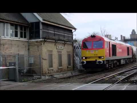 *ECML DIVERTS* Trains at: Lincoln Central (30/01/16)