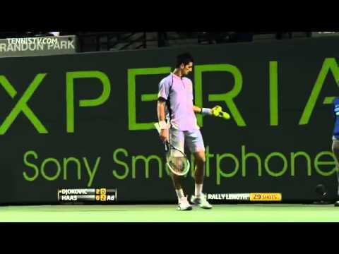 Djokovic vs Haas - Masters MIAMI 2013 (R4) - Full Match HD