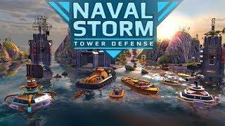 ЗАЩИТА БАШЕН НА ANDROID - Naval Storm TD