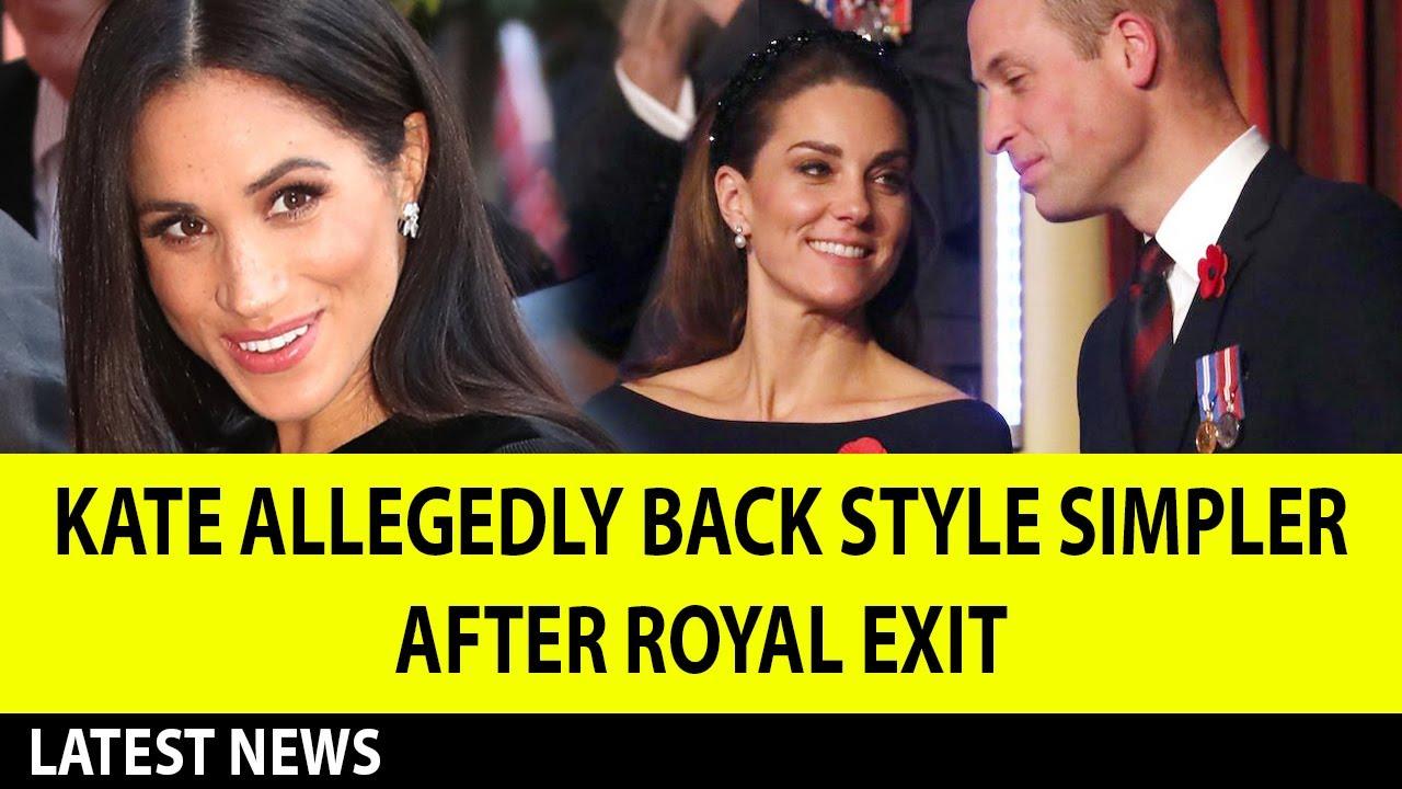 Kate Middleton Allegedly Back Style Simpler After Meghan Markle Royal Exit