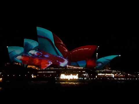 Vivid Sydney 2017 Opera House Full Show with Sound