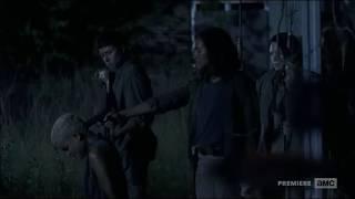 The Walking Dead Arat Death