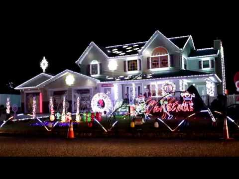 long island christmas light display synchronized with music - Christmas Lights Synchronized To Music
