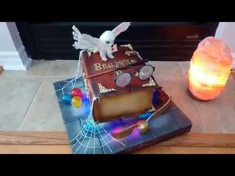торт книга гарри поттер \ Harry Potter Book Cake