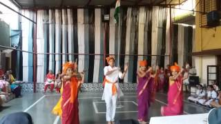 Maharashtra day at Gloria Convent High school-Byculla