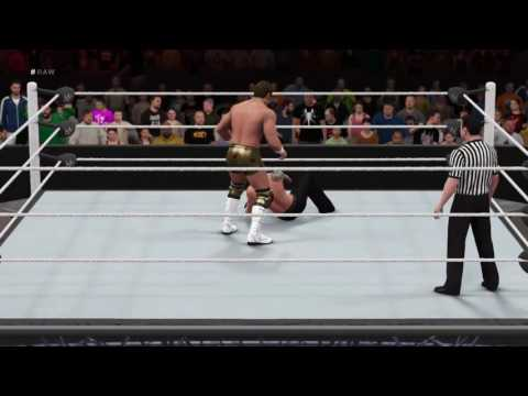 Wwe 2K16 as The Beast, BrockLesnar in King of the Ring Tournament