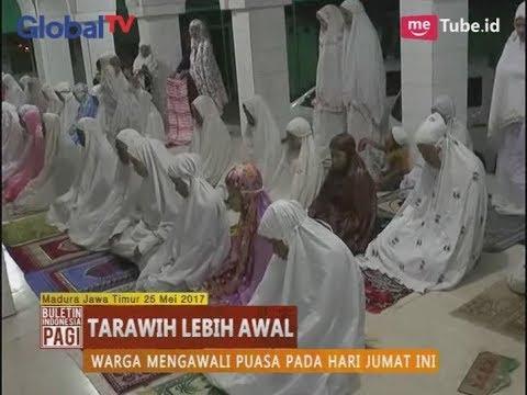 Warga Sumenep Madura Jawa Timur Lakukan Tarawih & Puasa Lebih Awal - BIP 26/05