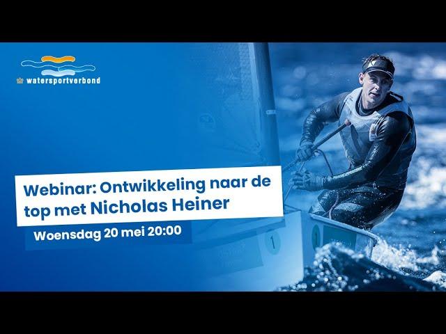 Webinar: Ontwikkeling naar de top met Nicholas Heiner