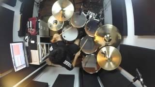 Adele - Hello ft. Leroy Sanchez - Drum Cover (copyright Re-upload)