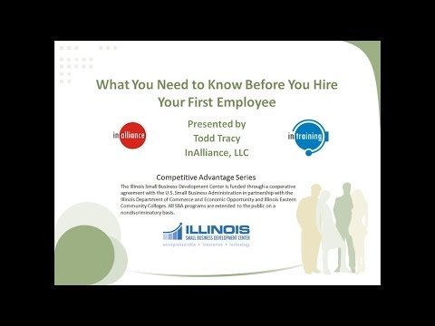 What You Need to Know Before You Hire Your First Employee