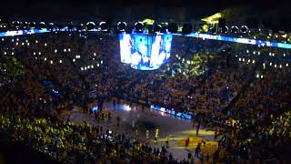 2018-05-20 Game 3 Oracle Arena - GSW Warriors vs Rockets - Opening