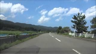 竜飛岬までの道