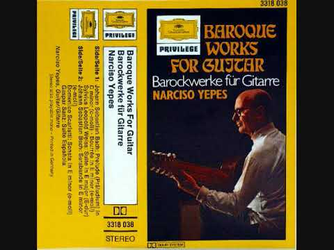 Narciso Yepes  - Baroque music for guitar