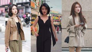Tik Tok China l Thời trang đường phố của các cô gái Trung Quốc #6 l [ Douyin / Street style ]