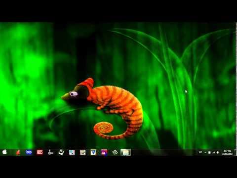 Đặt video làm hình nền desktop trong Windows 7