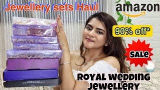 Amazon HUGE JEWELLERY Haul starting Rs 399 | Amazon wedding Jewellery  | ONLINE BRIDAL SHOPPING|