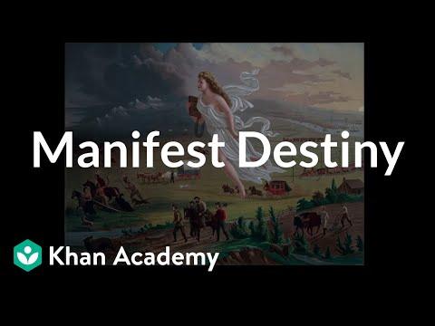 Manifest Destiny | Period 5: 1844-1877 | AP US History | Khan Academy