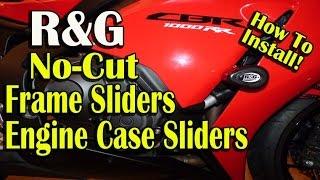 Gambar cover R&G No Cut Frame Sliders Install and Review - 2012 Honda CBR1000rr