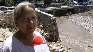Recorrido en la zona de Pisaflores, afectada por el huracán Ingrid