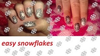 Christmas Series ❄ easy snowflakes